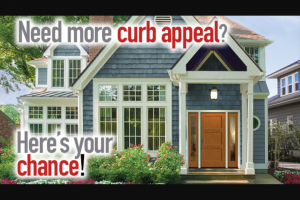 Today's Homeowner – Curb Appeal Makeover Contest – Homeownvers – Win a Therma-Tru entry door valued up to $5000 and up to $1500 in labor and materials for a front yard facelift