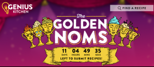 Genius Kitchen – 2018 Golden Noms Recipe – Win 1 of 6 prizes of a $2,000 check each