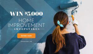 Meredith – Better Homes & Gardens – Win a $5,000 check for Home Improvement