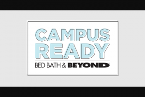 Bed Bath  Beyond Campus Ready Sweepstakes And Instant Win – Win A2018 Hyundai KONA, A $2,000 Bed Bath  Beyond Gift Card, A Sony TV, And A Sony Audio And Camera Package