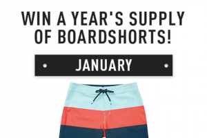 Billabong One Year Of Boardshorts Sweepstakes – Win A$750us.billabong.com Gift Card