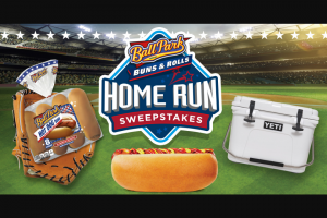 Bimbo Bakeries – Ball Park Buns Home Run – Win one (1) $2500 VISA gift card