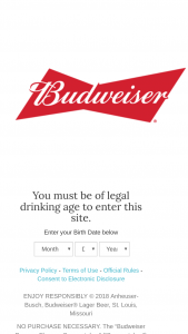 Budweiser Brewery Flyaway Sweepstakes – Win A3night Trip For Two To Your Choice Budweiser Brewery Facility City