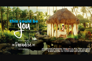 Hilton Honors Pick Your Paradise Sweepstakes – Win A6night Trip For Two To Either Hawaii, China, Or Italy