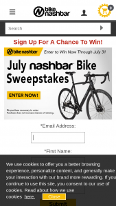 Nashbar – July Giveaway – Win Cyclocross Bike Compare At $2999.99.