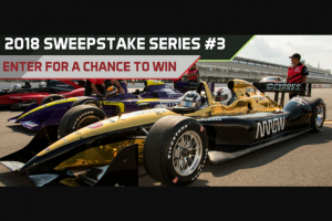 Pocono Raceway – 2018 Sweepstakes Series #3 – Win is one (1) Grand Prize available to be won