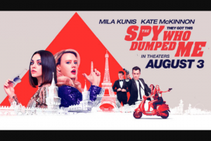 Ryan Seacrests The Spy Who Dumped Me Friends Getaway Sweepstakes – Win A $6,000 Gift Card