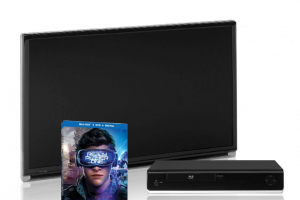 Southwest Magazine – Ready Player One Entertainment Package – Win of a 32' HDTV Wi-Fi 4K Blu-Ray disc player and 1 UV digital copy