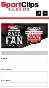 Sport Clips Ultimate Race Fan Experience – Darlington Sweepstakes – Win A2night Trip For Two To Darlington, SC To Attend TheMonster Energy Race