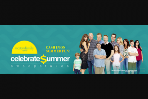 Twentieth Television – Modern Family Nightly Celebrate Summer – Win check made payable to the winner (ARV $1500).