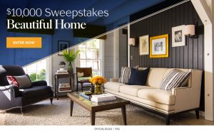 Martha Stewart – Beautiful Home – Win a $10,000 check