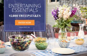Meredith – Eating Well – Entertaining Essentials – Win a $5,000 check