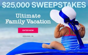 Meredith – Parents – Win a $25,000 check for the Ultimate Family Vacation