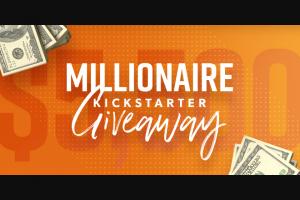 Dave Ramsey – Millionaire Kickstarter Giveaway Sweepstakes