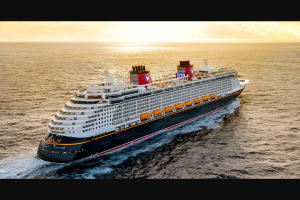 Disney Online – Magic At Sea – Win a five day/four night Disney Cruise Line vacation to the Bahamas for Winner and up to three guests to be taken aboard the Disney Dream Ship on dates selected by Winner
