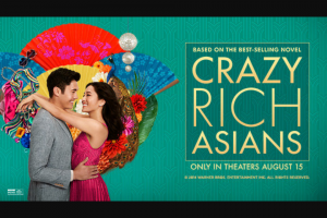 Iheart – Crazy Rich Singapore – Win for two to Singapore prior to 2/28/2019 and not including the following blackout windows 9/12/18 – 9/17/18 12/21/18 – 1/1/19 & 2/1/19 – 2/9/19.