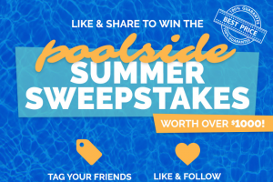 Namco Pools – Poolside Summer Sweepstakes