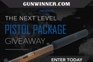 On Target Magazine – Next Level Pistol Package Giveaway – Win (1) Aklys Defense Pilum 9mm Pistol and Sub-gun Suppressor