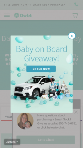 Owlet Care Mark Miller Subaru – Baby On Board Giveaway – Win 2019 Subaru Ascent and over $5000 in sponsored products