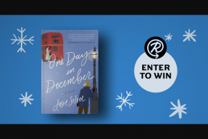 Penguin Random House – One Day In December – Win one copy of  One Day in December by Josie Silver