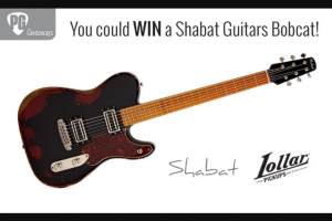 Premier Guitar – Shabat Guitars Bobcat Sweepstakes