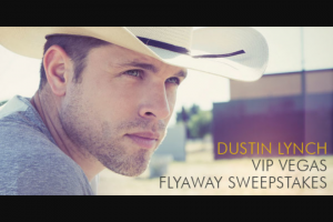 Premiere Networks – Dustin Lynch Las Vegas Flyaway – Win day/three night trip for Winner and one guest to attend the iHeartRadio Music Festival on September 21 2018 and September 22 2018 in Las Vegas Nevada
