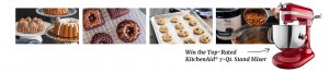 America's Test Kitchen – Baking Essentials – Win a grand prize valued at $4,241 OR 1 of 3 minor prizes