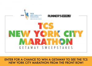 Hearst Magazines – Runner's World TCS New York City Marathon – Win a getaway package for 2 to NYC valued at $3,125