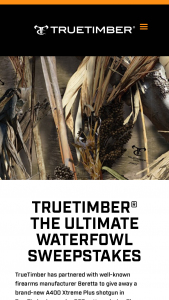 Bass Pro Shops – Truetimber The Ultimate Waterfowl Sweepstakes