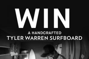 Billabong – Tyler Warren Surfboard – Win Grand Prize shall consist ofone (1) limited edition autographed surfboard (ARV $750).