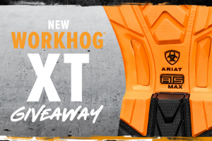 Cavender's – Ariat Workhog Xt Giveaway – Win a prize of (1) pair of Ariat Workhog XT workboots – Prize valued up to $209.99 each