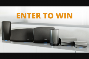 """Crutchfield – Heos Great Gear Giveaway – Win a """"Heos shopping spree"""" worth up to one thousand two hundred dollars ($1200)."""