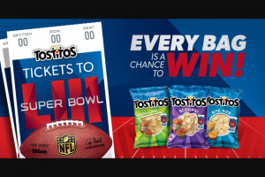 Frito-Lay – Tostitos Super Bowl Matchup Sweepstakes