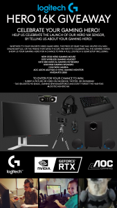 Logitech – G Hero 16k Giveaway Sweepstakes