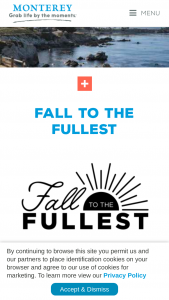 Monterey County Convention And Visitors Bureau – Fall To The Fullest Sweepstakes