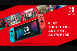 Nintendo Of America – My Nintendo Games With An Edge – Win one prize package
