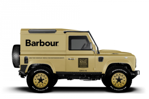 Orvis – Barbour Land Rover – Win One (1) A fully restored 1995 Land Rover Defender 90 – approximate retail value of Grand Prize $125000 USD