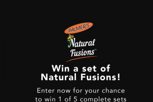 Palmer's – Natural Fusions Yes Girl Sweepstakes