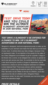 Polaris – Adventures Zion National Park Sweepstakes