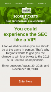 Regions Bank – #road2atl – Win form 1099 as