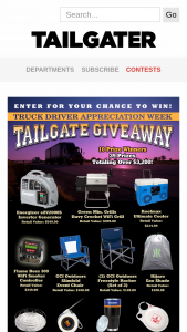 Tailgater Magazine – Truck Driver Giveaway Sweepstakes