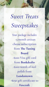 Tasting Board Experience – Sweet Treats Sweepstakes