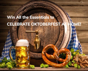 Hopsy – The Celebrate Oktoberfest at Home – Win a grand prize package valued at $1,124