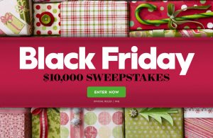 Meredith – Better Homes & Gardens – Black Friday – Win a $10,000 check