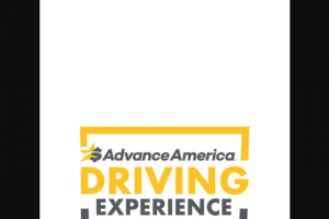 Advance America – Driving Experience With Danica Patrick – Win the following  • Roundtrip (coach class) Air Transportation for two (2) to the prize destination