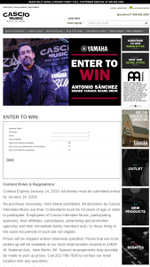 Cascio Interstate Music – Antonio Sanchez Signed Yamaha Snare Drum Sweepstakes