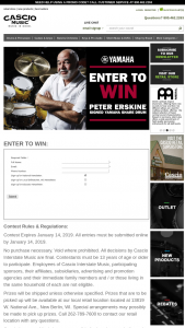Cascio Interstate Music – Peter Erskine Signed Yamaha Snare Drum Sweepstakes