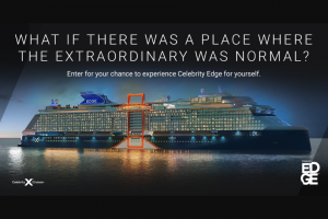 Celebrity Cruises – Celebrity Edge – Win a $50 VISA Prepaid Card