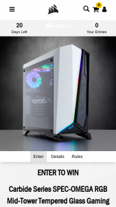 Corsair – Gaming Case Sweepstakes