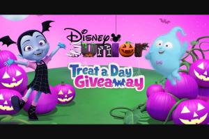 Disney Channel – Disney Junior Treat A Day Giveaway – Win is a Vampirina Rock N'Jam Touring Van